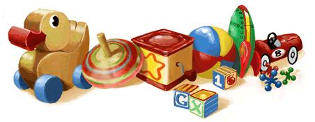 Google Logo: Happy 2011 Children's Day!